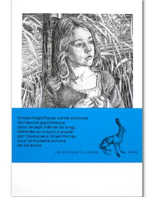 Cartes postales issu de l'œuvre Médusa de Gilles Marrey