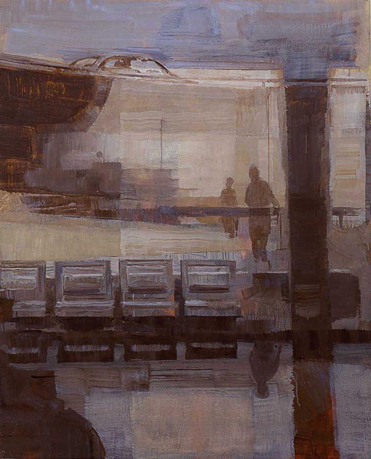 Petit Roissy. Huile sur toile, 73 x 60 cm, 2002