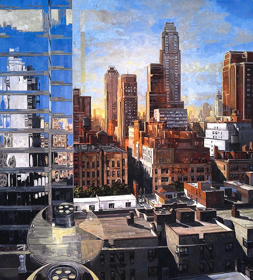 Apographie n°6. Huile sur toile, 200 x 180 cm, 2007-2014-gilles-marrey