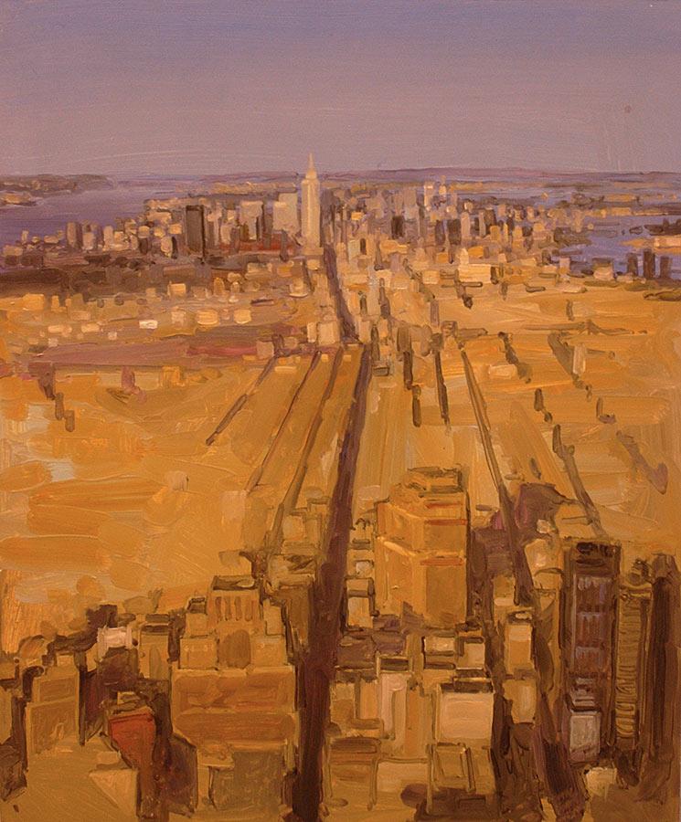 NY. Huile sur toile, 65 x 54 cm, 2010
