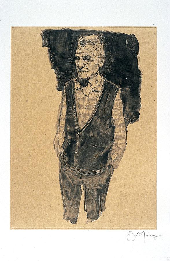 Papé. Monotype, 34 x 22 cm, 2008