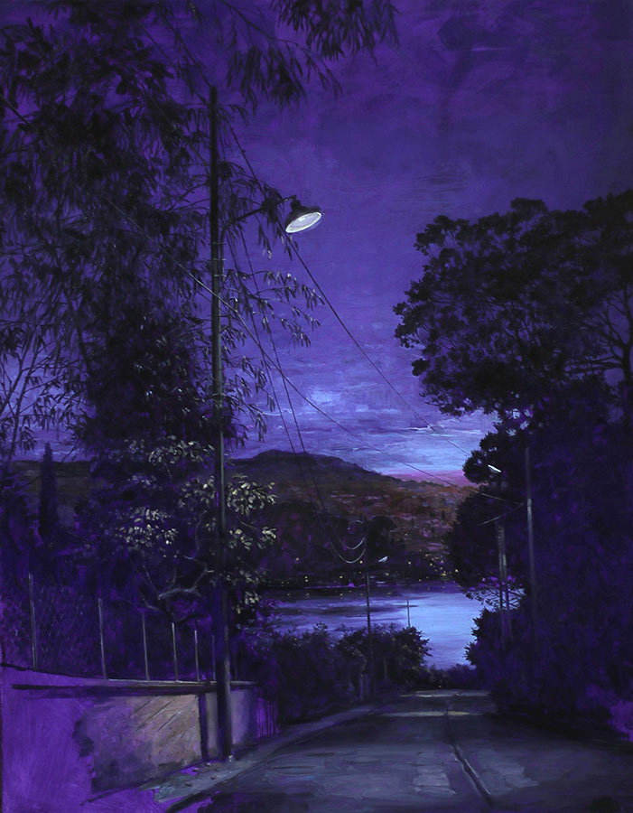 Titre incertain. Huile sur toile, 146 x 114 cm, 2015