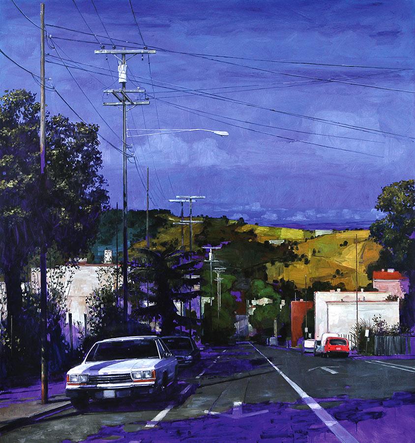 Virginia Street 1. Huile sur toile, 180 x 170 cm, 2009