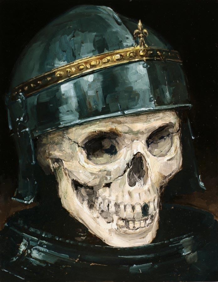 Richard III. Huile sur toile, 35 x 27 cm, 2019