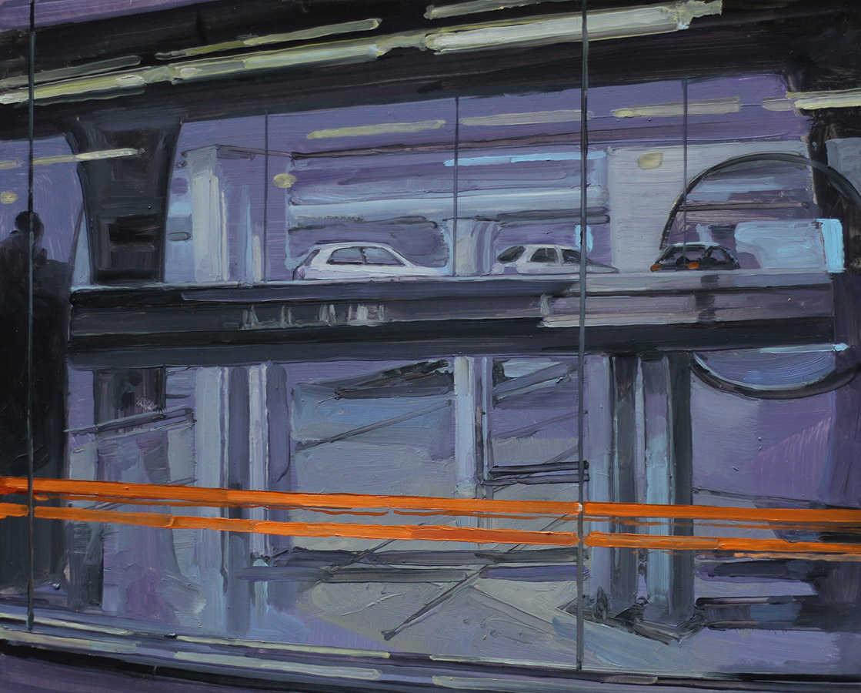 Petit Roissy. Huile sur toile, 41 x 33 cm, 2010