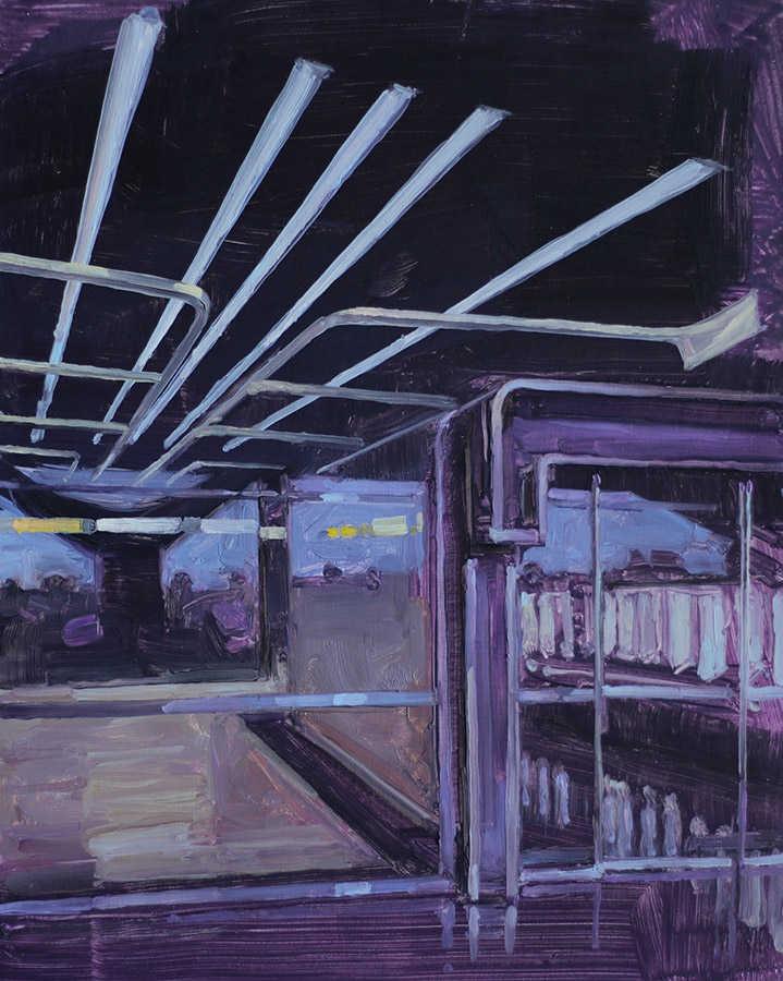 Petite Porte 22. Huile sur toile, 41 x 33 cm, 2008