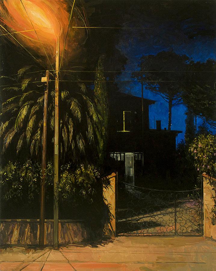 Cap brun. Huile sur toile, 164 x 130 cm, 2010