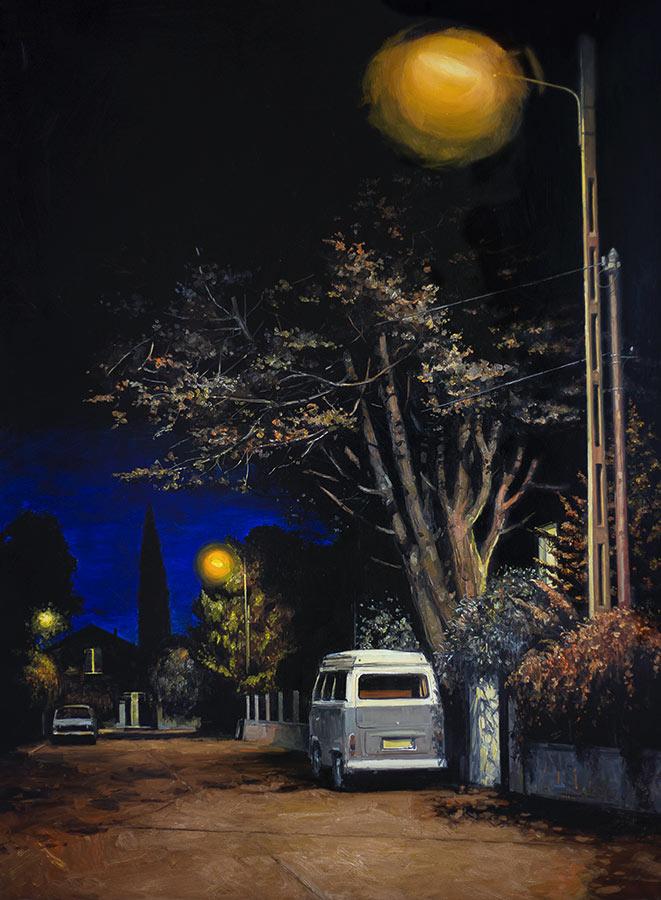 Combi. Huile sur toile, 180 x 135 cm, 2014