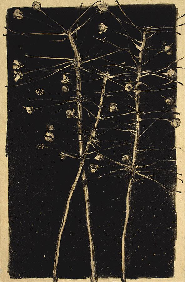 Danseuses. Monotype, 34,5 x 22 cm, 2013