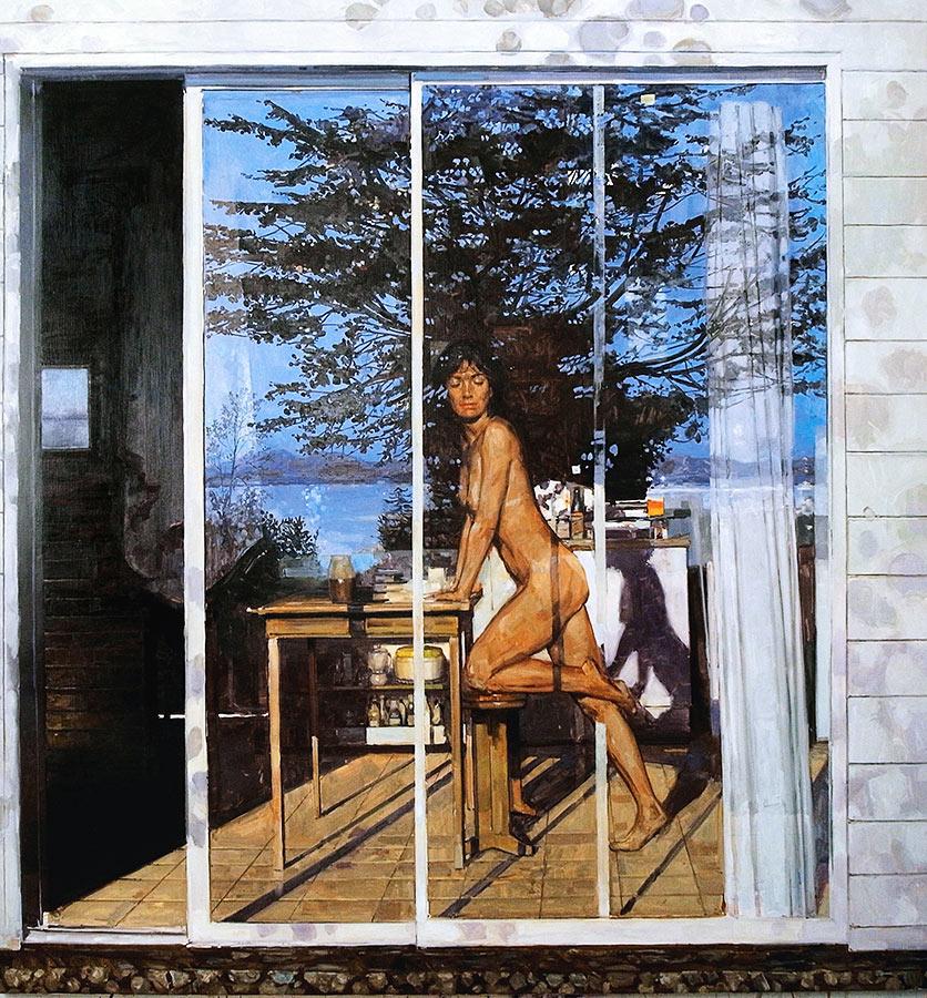 Ile. Huile sur toile, 180 x 170 cm, 2012-2013