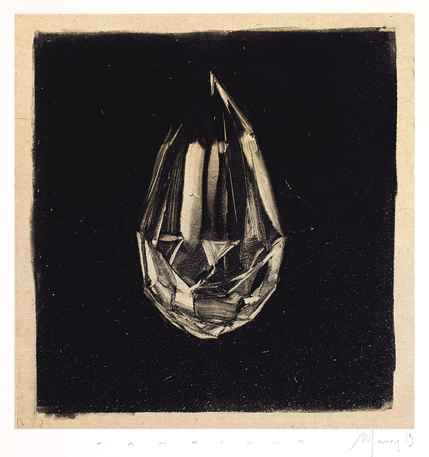 Pampilles. Monotype, 21 x 20 cm, 2013