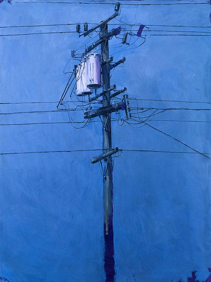 Telegraph Street 2. Huile sur toile, 130 x 97 cm, 2009