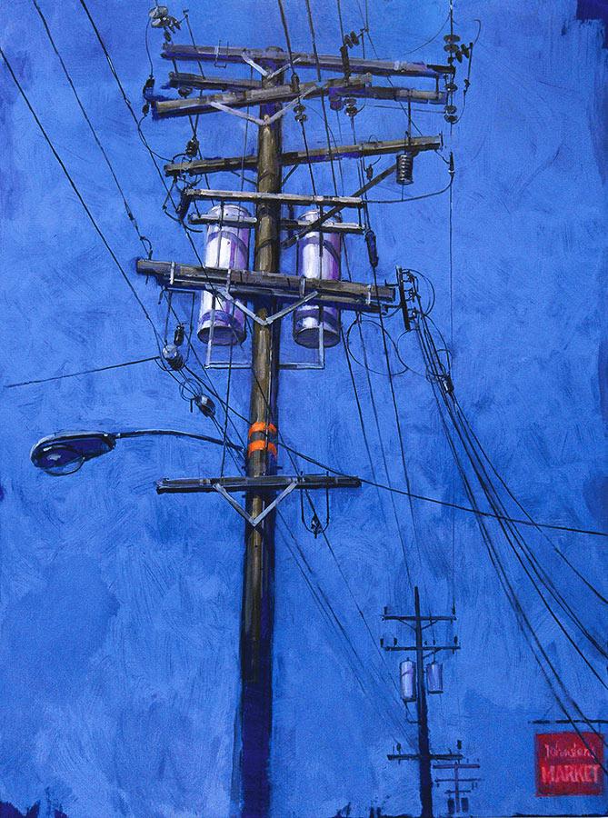 Telegraph Street 3. Huile sur toile, 130 x 97 cm, 2009