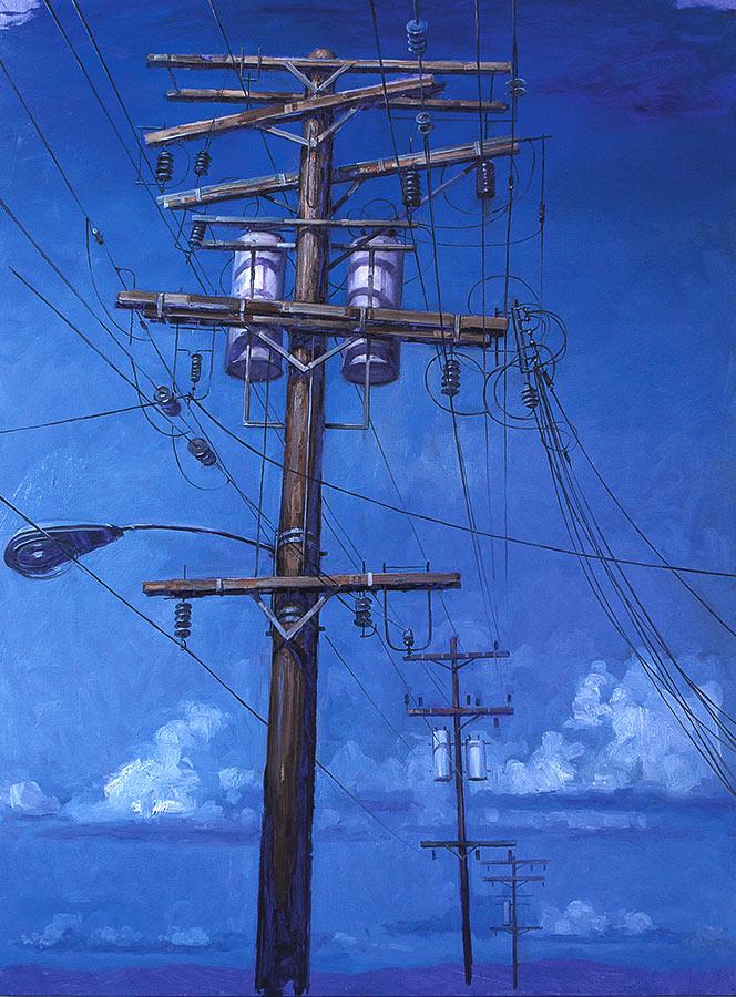 Telegraph Street 4. Huile sur toile, 130 x 97 cm, 2009