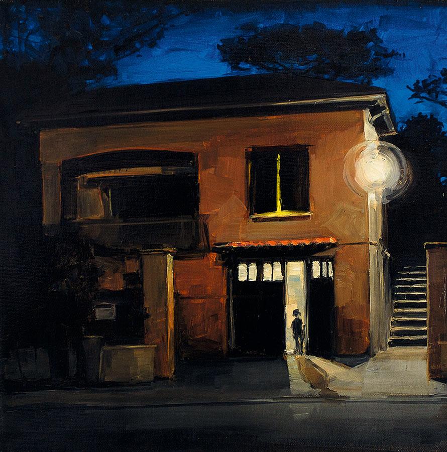 Petite Ste-Marguerite. Huile sur toile, 40 x 40 cm, 2010