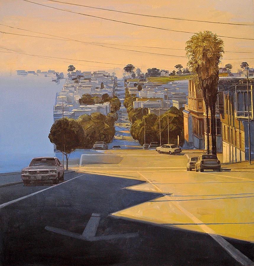 The Hills 1. Huile sur toile, 180 x 170 cm, 2008
