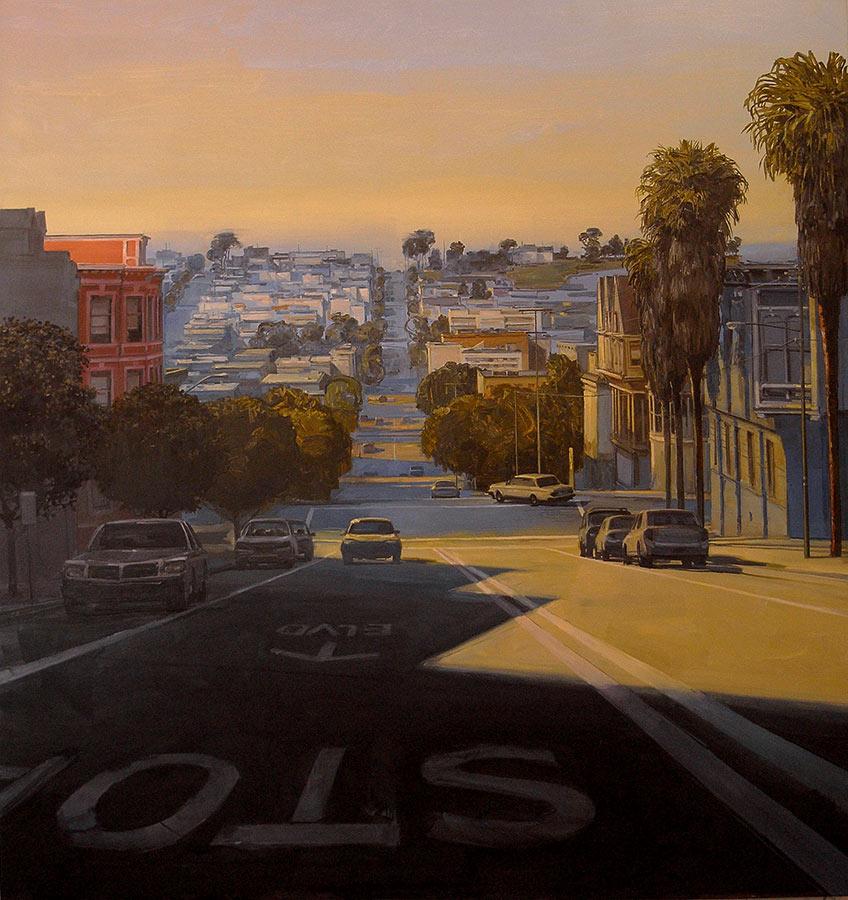 The Hills 2. Huile sur toile, 180 x 170 cm, 2008