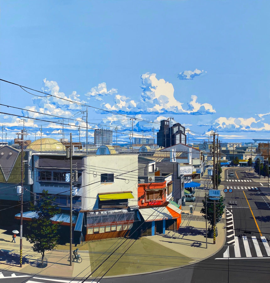 Grand Osaka. Gouache, 138 x 130 cm, 2020